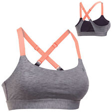 Under Armour Womens Eclipse Heather Mid Sports Bra XS - Ladies Gym Training Top