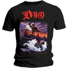 OFFICIAL LICENSED - DIO - HOLY DIVER T SHIRT METAL ROCK RAINBOW SABBATH