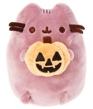 """NEW WITH TAG CLAIRE'S EXCLUSIVE 5"""" PUSHEEN w/JACK O LANTERN / PUMPKIN HALLOWEEN!"""