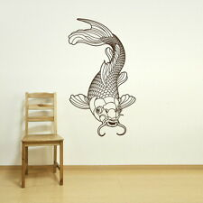 KOI CARP POND FISH CHINESE COI WALL ART STICKER transfer graphic vinyl Fi10