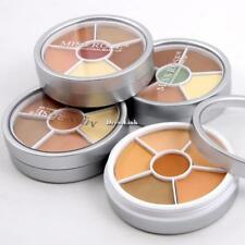 Stereo Face Shimmer Highlighter 6 colori correttore in polvere DL0