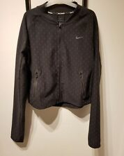 Nike Womens Dri-FIT Reflective Running Jacket Black 800944-010