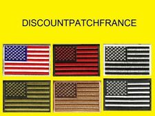 Flag USA AIRSOFT. Patch écusson thermocollant aufnäher toppa embroidered patches