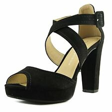 Chinese Laundry Womens ALLANA Peep Toe Casual Fabric Platform Sandals