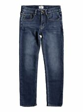 Quiksilver™ Revolver Hash Blue - Straight Fit Jeans - Chicos