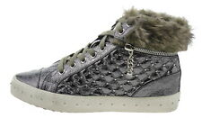 COLORS OF CALIFORNIA hc.skech46k-f15 Sneaker alta argento 179281