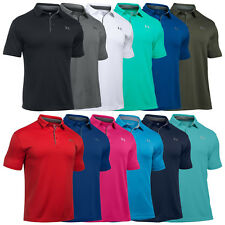 Under Armour herren Heatgear Tech Polohemd Golf neu UA Kurzarm T-Shirt 2017