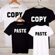 Copy & Paste Mum, Dad, Daughter & Son Matching Family T-shirts, choose 1-5 tees