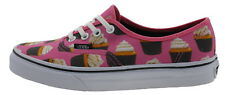 Vans VN0003B9IFD Authentic Sneaker hot pink cupcakes 179346