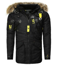 Parka Geographical Norway homme Parka Agaros noir