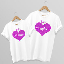 Like Mother - Like Daughter - Matching Mum & Daughter T-shirts, choose 1-5 tees