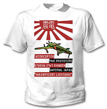 KYUSHU J7W1 SHINDEN - NEW COTTON WHITE TSHIRT