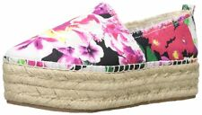 Betsey Johnson Womens Flouncee Closed Toe Casual Espadrille Sandals
