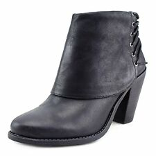 Jessica Simpson Womens Caysy Leather Closed Toe Ankle Fashion Boots