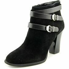 INC International Concepts Jaydie Round Toe Suede Ankle Boot