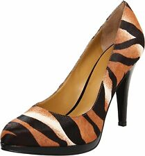 Nine West Womens Rocha Leather Closed Toe Classic Pumps