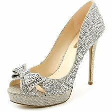 INC International Concepts Womens VERNAA2 Peep Toe Platform Pumps