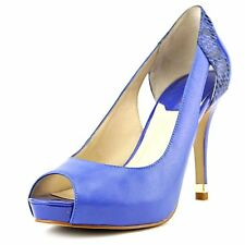 Marc Fisher Womens BROSS Leather Peep Toe Classic Pumps