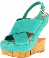 DV8 by Dolce Vita Womens Haylo Open Toe Special Occasion Platform Sandals