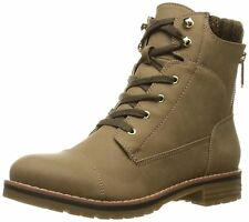 Tommy Hilfiger Womens Omar2 Closed Toe Ankle Combat Boots