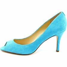 Ivanka Trump Womens CLEO Leather Peep Toe Classic Pumps