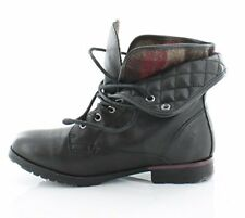 ROCK & CANDY Womens Spraypaint Q Fabric Closed Toe Ankle Fashion Boots
