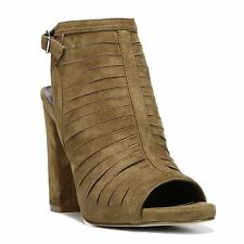 Carlos by Carlos Santana Womens Scout Leather Open Toe Ankle Strap Mules