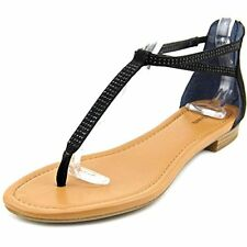 Style & Co. Womens Brinna Split Toe Casual T-Strap Sandals