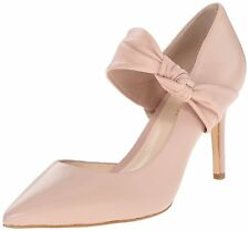 Nine West Womens Rlycool Leather Pointed Toe D-orsay Pumps