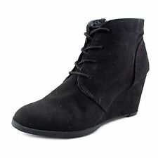 American Rag Womens Baylie Cap Toe Ankle Platform Boots