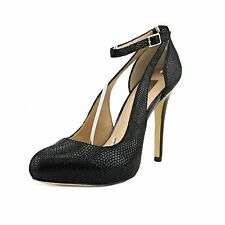 INC International Concepts Womens LUCEY Closed Toe Ankle Strap Classic Pumps