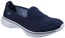 SKECHERS GO WALK 4 Kindle Azul Marino/Zapatillas blancas