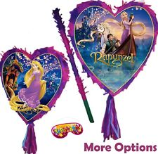 Rapunzel Pinata Smash Party Stick Disney Princess Tangled long hair story UK New