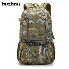 Bucbon Camo Tactical Backpack Military Army Mochila 50L Waterproof Hiking