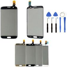 Per Samsung Galaxy S7 Edge G935 Vetro Front Touch Screen Digitizer Tool Argento