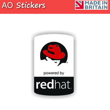 2 5 10 20 RED HAT Linux vinyl logo label sticker badge  laptop PC tablet phone