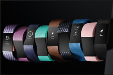 Fitbit Charge 2 Heart Rate Band + Fitness Activity Wristband Tracker Large Sizes