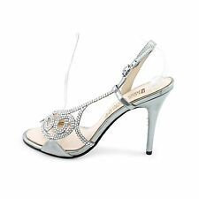 E! Live From The Red Carpet Womens E0014 Open Toe Special Occasion Ankle Stra...
