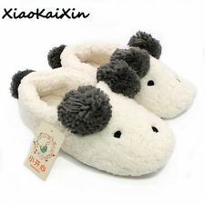 New Winter Animal Shape Mujer Shoes Slippers Women Home Cute Short Plush Warm