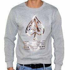 MONSTERPIECE - SWEAT SHIRT - HOMME - AS JAY Z - GRIS CUIVRE NEUF