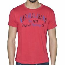 KAPORAL - T-SHIRT MANCHES COURTES - HOMME - ZOREV - ROUGE HIBISCUS NEUF