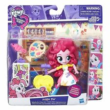 MY Little PONY EQUESTRIA GIRLS Minis Pinkie Pie Splashy Class Set PHOTO FINISH