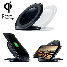 For Samsung Note 8 S8 S7 S6 Qi Wireless 2A Fast Charger Charging Stand Dock Pad