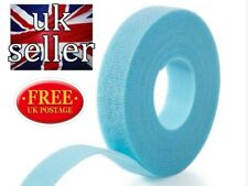 VELCRO® brand Hook and loop back to back strapping ONE-WRAP® 2CM in AQUA