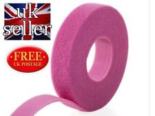 VELCRO® Brand Hook and loop ONE-WRAP® back to back Strapping 20mm in PINK