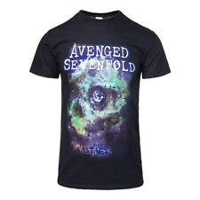 T Shirt Official Space Face Avenged Sevenfold Unisex Adulti Uomo Donna Femminile