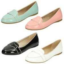 Mujer Spot On - Charol Zapatos Informales Planos