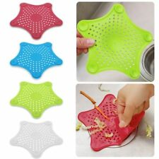 Silicone Kitchen Sink Strainer Filter Bathroom Shower Drain Cover Hair Catcher