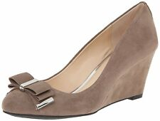 Jessica Simpson Womens Slane Wedge Suede Closed Toe Classic Pumps