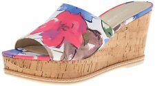 Franco Sarto Womens CATY Fabric Open Toe Casual Slide Sandals